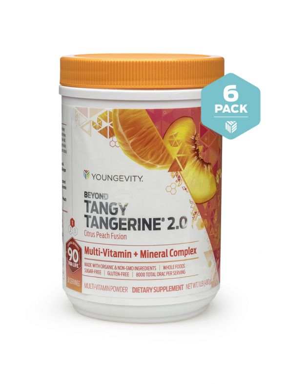 BTT 2.0 Citrus Peach Fusion 480 G Canister (6 Pack)